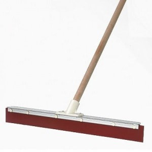 24 INCH SQUEEGEE COMPLETE WITH HANDLE